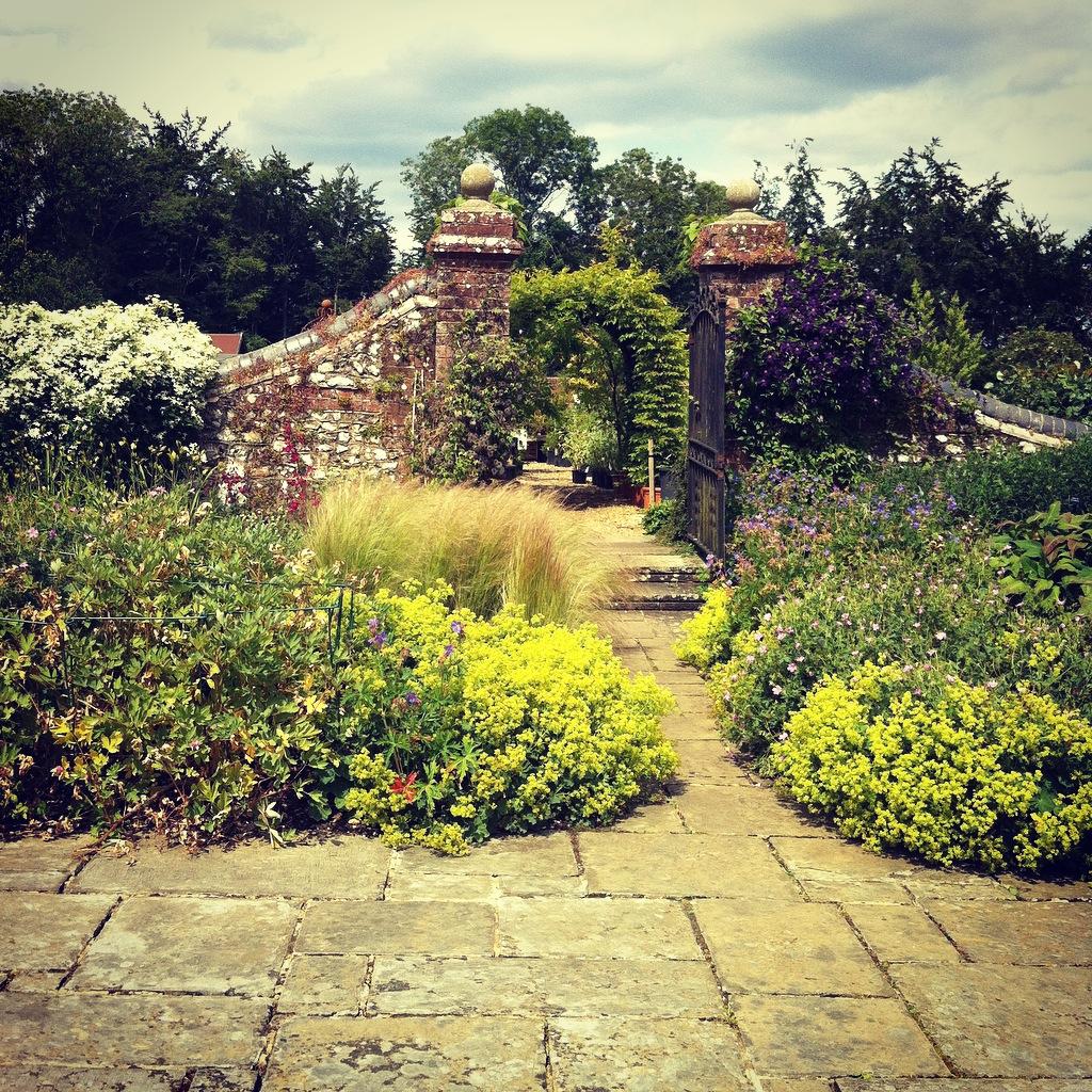 from longstock park nursery to wherwell priory studio art draw