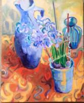 hyacinth, oil, £210