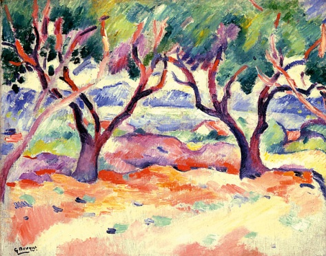 2.-George-Braque,-Trees-at-la-Ciotat,-1907