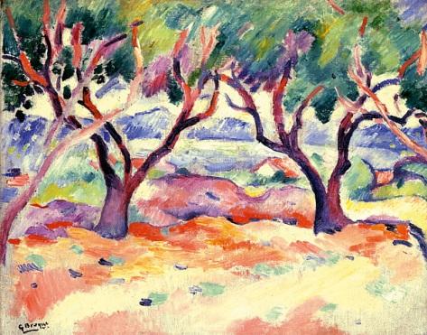 2.-George-Braque,-Trees-at-la-Ciotat,-1907