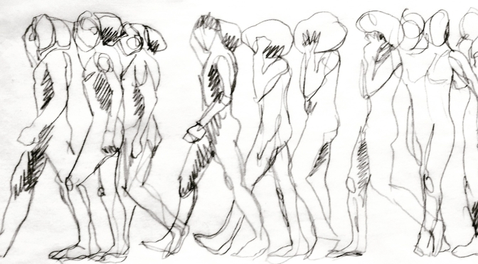 Life Drawing, Three Ways, Retreat