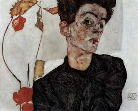 Egon_Schiele self portrait