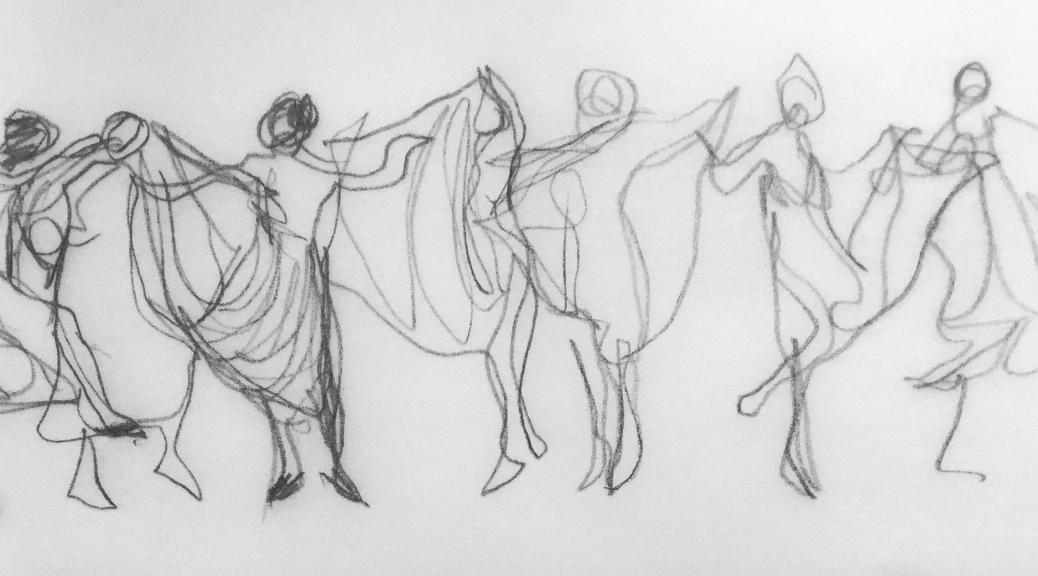 dance movement sketch